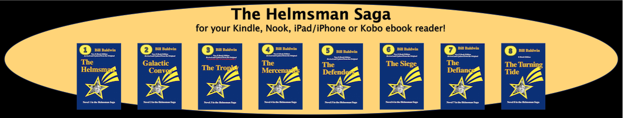 The Helmsman Saga by Bill Baldwin